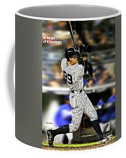 The Judge, Aaron Judge, Number 99, New York Yankees Coffee Mug