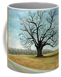 The Keeler Oak Coffee Mug