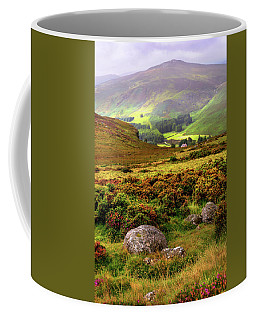 Coffee Mug featuring the photograph The Keeper Of Legends by Jenny Rainbow