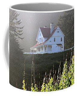 The Keepers House 2 Coffee Mug by Laddie Halupa