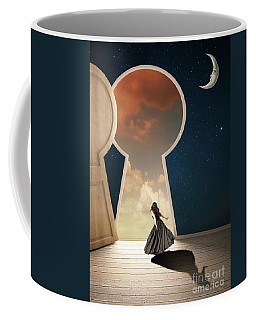 Curiouser And Curiouser Coffee Mug