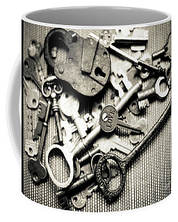 Coffee Mug featuring the photograph The Key To Love by Ana V Ramirez