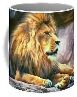 The King Of Cool Coffee Mug by Tina LeCour