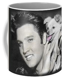 The King Rocks On Xxv Coffee Mug