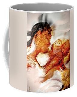 The Kiss Coffee Mug by Pennie  McCracken