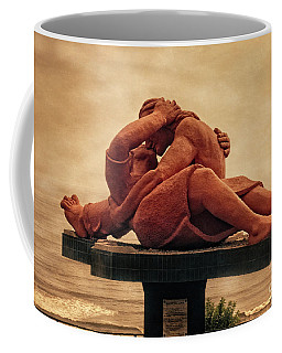 Coffee Mug featuring the photograph The Kiss - Peru by Mary Machare