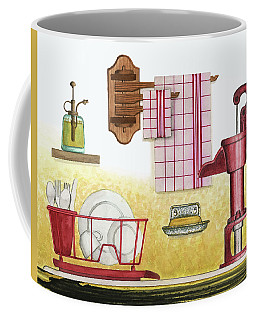 The Kitchen Sink Coffee Mug