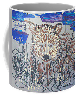 Coffee Mug featuring the painting The Kodiak by J R Seymour