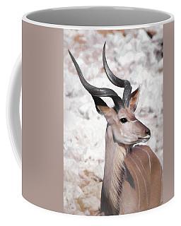 The Kudu Portrait Coffee Mug