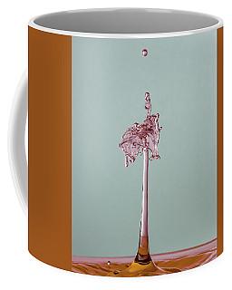 The Lady On The Water Drop Coffee Mug