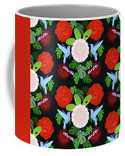 The Ladybird And The Hummingbird Coffee Mug
