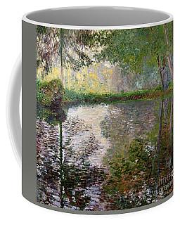 The Lake At Montgeron Coffee Mug
