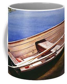 The Lake Boat Coffee Mug