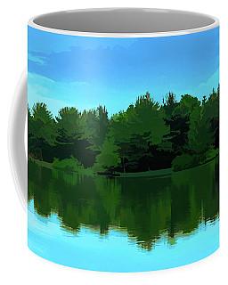 The Lake - Impressionism Coffee Mug