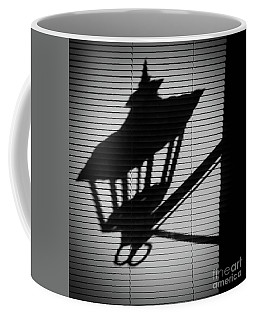 The Lamp Shadow Coffee Mug by Steven Parker