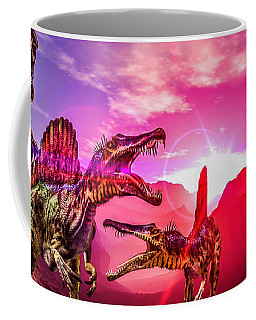 The Land Before Time 1 Coffee Mug by Naomi Burgess