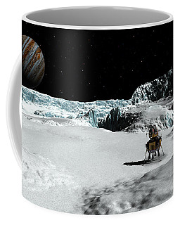 The Lander Ulysses On Europa Coffee Mug by David Robinson