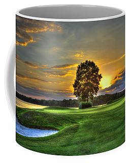 The Landing Golf Course Reynolds Plantation Landscape Art Coffee Mug