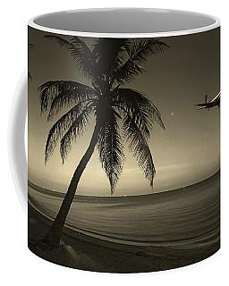 The Last Flight Out Coffee Mug by Susanne Van Hulst