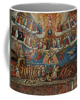 The Last Judgement, Cuzco School, Late 17th Century Coffee Mug