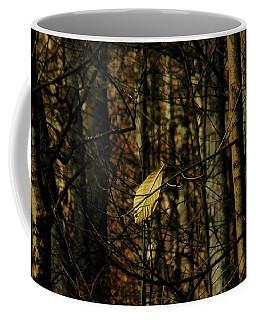 The Last Leaf Coffee Mug by Bruce Patrick Smith