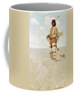 The Last Of His Race  The Vanishing American, 1908 Coffee Mug