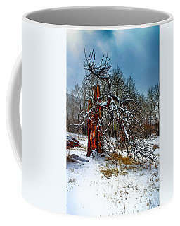 Coffee Mug featuring the photograph The Last Stand by Shane Bechler