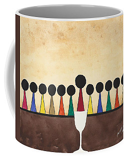 The Last Supper  Coffee Mug by Edwin Alverio