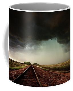 The Last Train To Darksville Coffee Mug