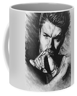 The Late Great George Michaels Coffee Mug by Darryl Matthews