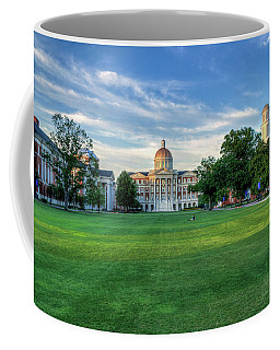 The Lawn At Christopher Newport College Coffee Mug