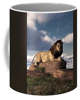 The Lazy Lion Coffee Mug by Daniel Eskridge