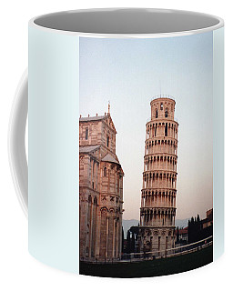 The Leaning Tower Of Pisa Coffee Mug by Marna Edwards Flavell