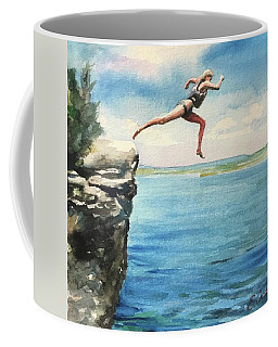 The Leap Coffee Mug