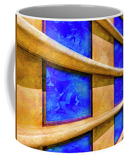 Coffee Mug featuring the photograph The Ledge by Paul Wear