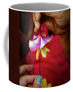 The Lei Maker's Hands Coffee Mug