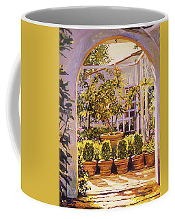 The Lemon Tree Courtyard Coffee Mug