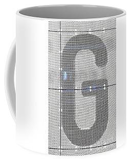 The Letter G Coffee Mug