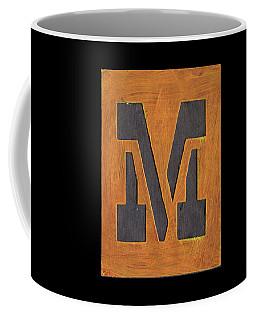 The Letter M Coffee Mug