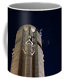 The Liberty Memorial At Night Coffee Mug