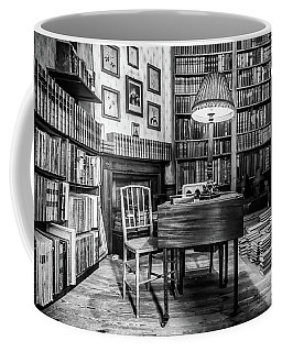 Coffee Mug featuring the photograph The Library by Nick Bywater