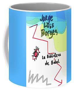 The Library Of Babel  Coffee Mug