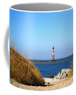 The Lighhouse At Morris Island Charleston Coffee Mug