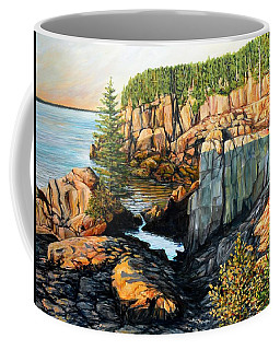The Light Dawns On West Quoddy Head Coffee Mug