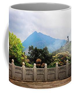 The Light Of Buddha Coffee Mug