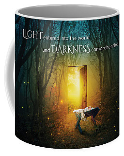 The Light Of Life Coffee Mug