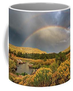The Light, The Rainbows And The River Coffee Mug