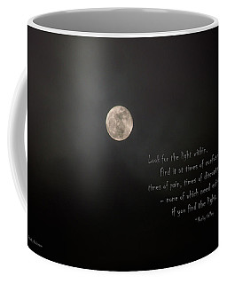Coffee Mug featuring the photograph The Light Within by Mick Anderson