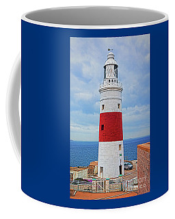 The Lighthouse At Europa Point Coffee Mug