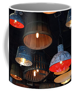 Coffee Mug featuring the photograph The Lights Above by Rick Locke